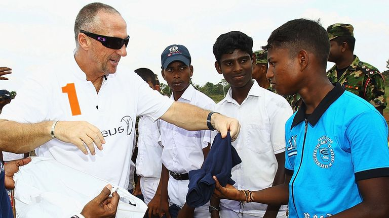 Sir Ian Botham: Starts his eight-day walk on Friday