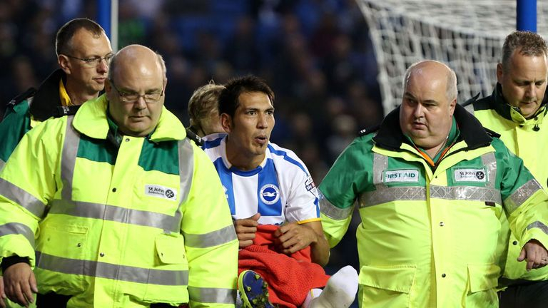 Leonardo Ulloa: Close to return from injury