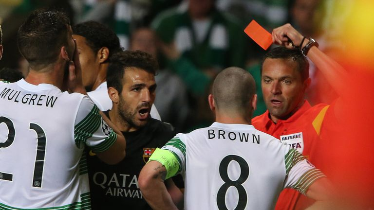 Scott Brown: Red card against Barcelona could cost him three games - appeal due shortly