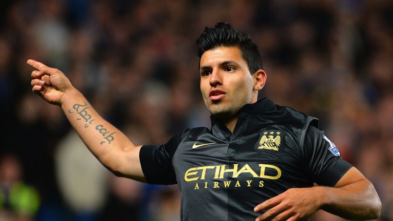 Sergio Aguero: Repeatedly linked with Real Madrid