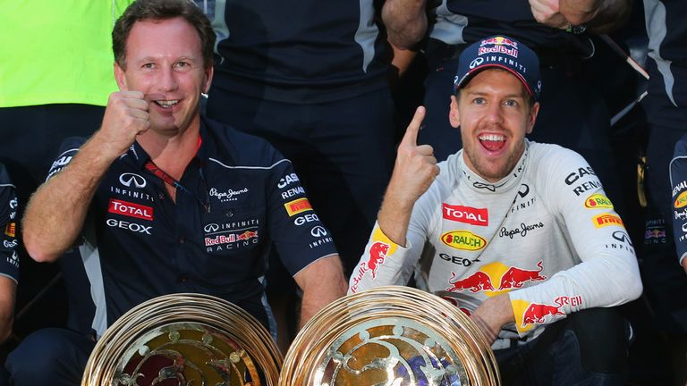 Horner's Red Bull team are set to claim their fourth consecutive title double this season