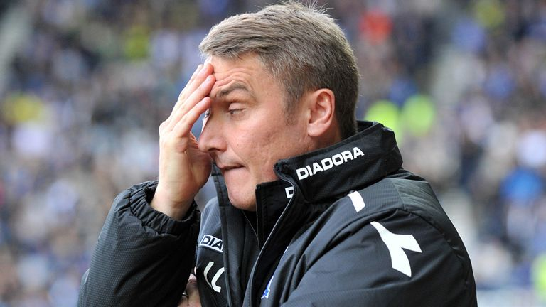Lee Clark: Hoping he will not have to part with more key men in January