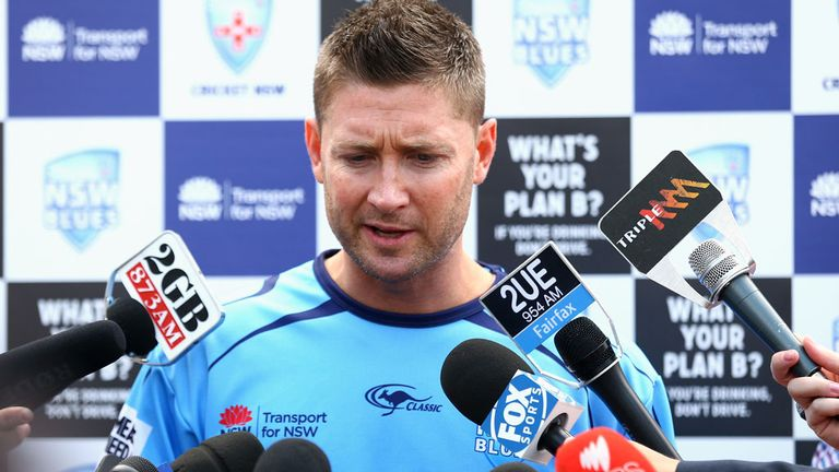 Michael Clarke: Positive ahead of the Ashes series this winter