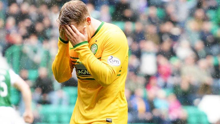 Kris Commons: Celtic winger sustained a hamstring injury against Hibernian