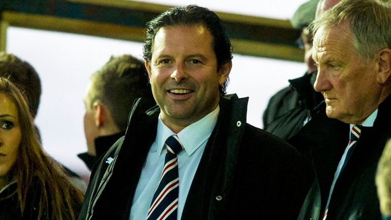 Craig Mather: Says Rangers are now financially secure