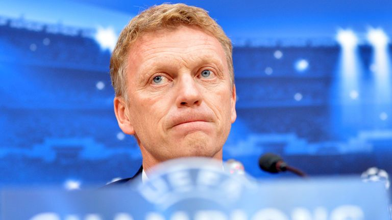 David Moyes: Manchester United boss has the backing of Sir Alex Ferguson