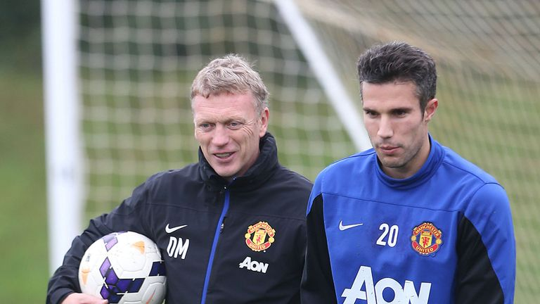David Moyes: Says he is finally learning the full capabilities of Robin van Persie and his team-mates