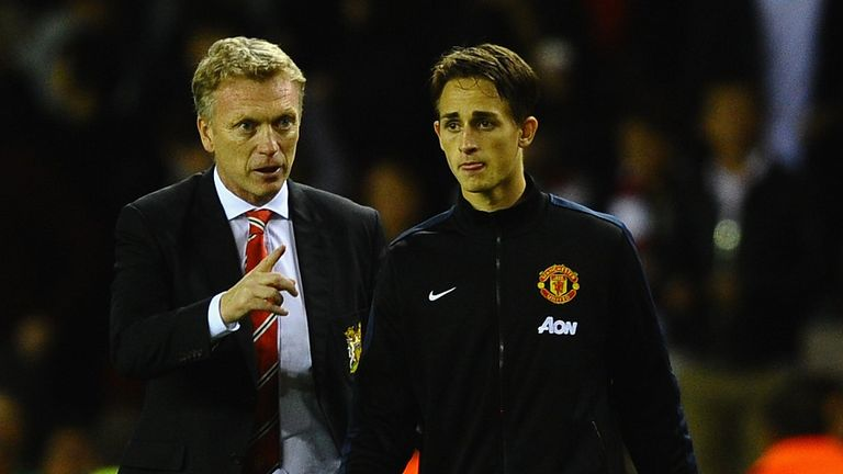 "David Moyes (l): Has tipped ""level-headed"" Adnan Januzaj for the top"