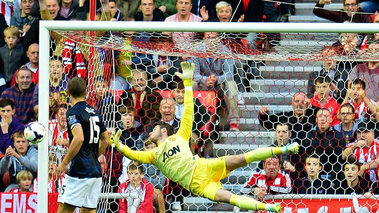 David De Gea: Great save against Sunderland