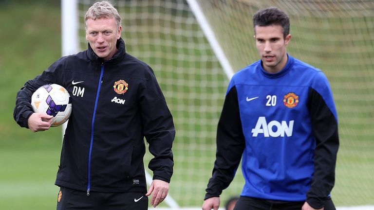 David Moyes: Defends Robin van Persie after recent comments
