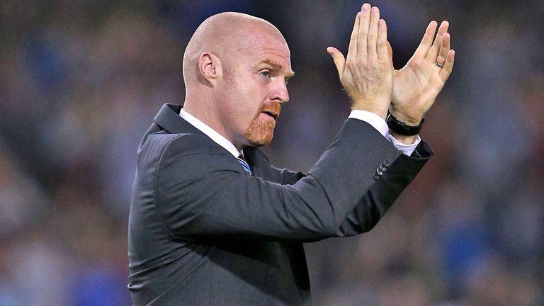 Sean Dyche: Thrilled with Burnley's start
