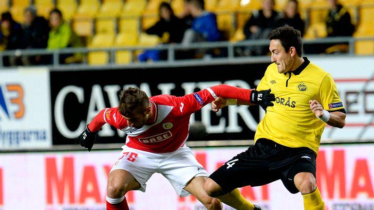 Alpaslan Ozturk: Holds off Elfsborg's Stefan Ishizaki