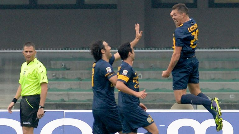 Hellas Verona: Up to fourth in Serie A