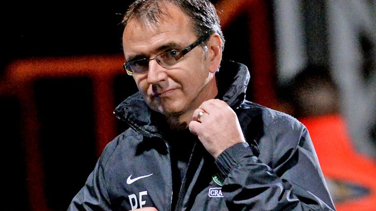 Pat Fenlon: Paid tribute to the unfortunate hosts