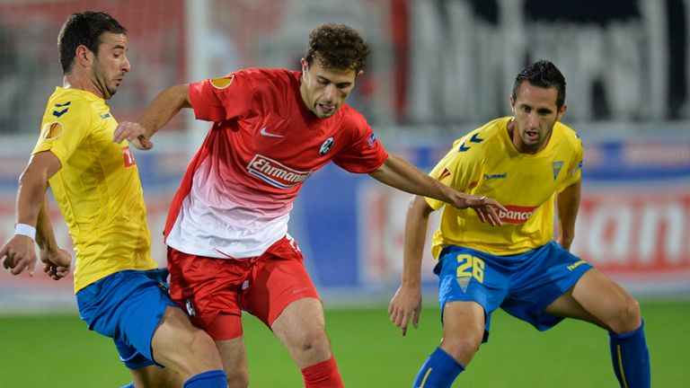 Admir Mehmedi: Seeks way through for Freiburg