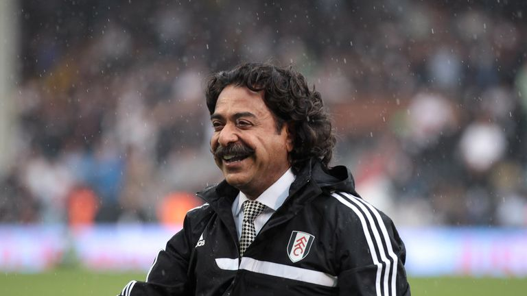 Shahid Khan: Fulham owner won't push for 39th game