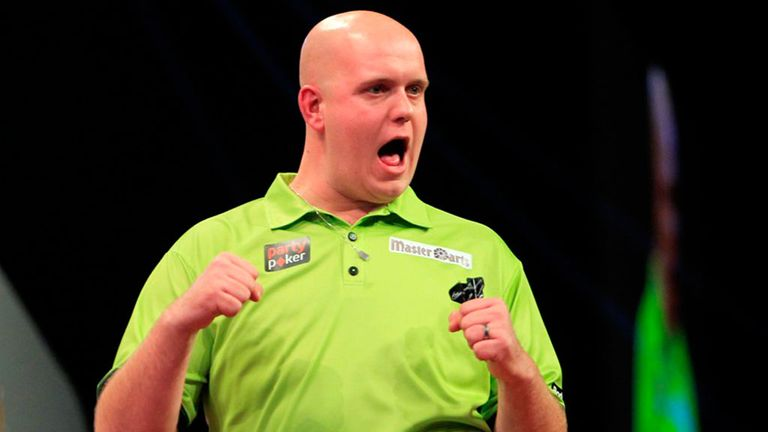 Michael van Gerwen: Opened his second round match in Dublin with a 148 checkout