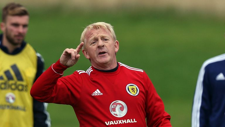 Gordon Strachan: Taking his Scotland team to Norway next month