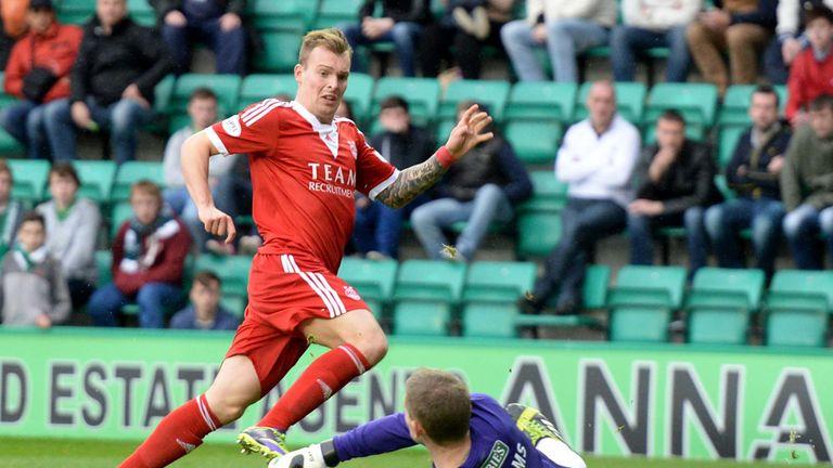 Gregg Wylde: St Mirren's new winger in goalscoring form for Aberdeen
