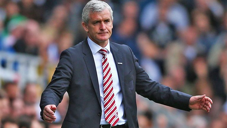 Mark Hughes: Looking to add to United's disappointing start to the season on Saturday