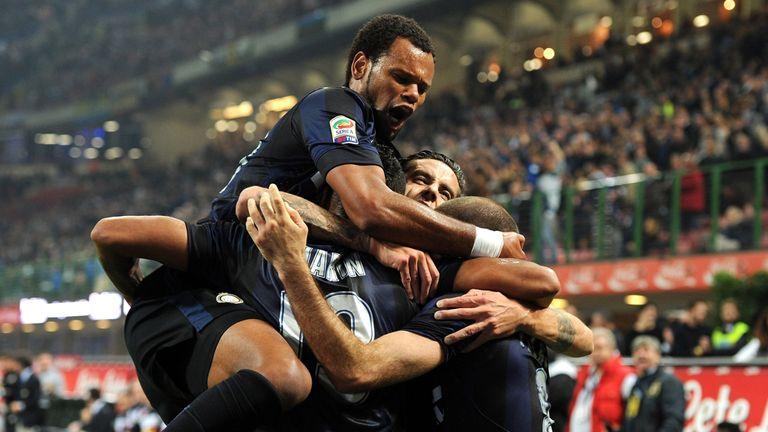 Inter Milan: Hoping to celebrate return to Europe