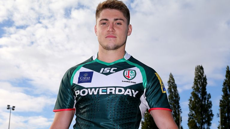 James O'Connor: Set for new challenge at London Irish