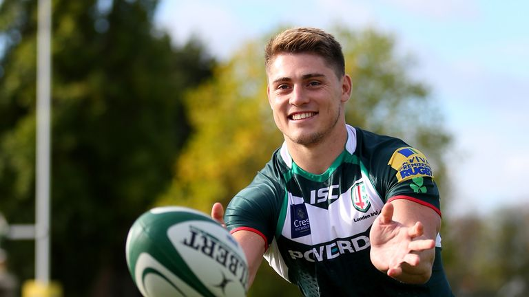 James O'Connor: Fresh start at London Irish