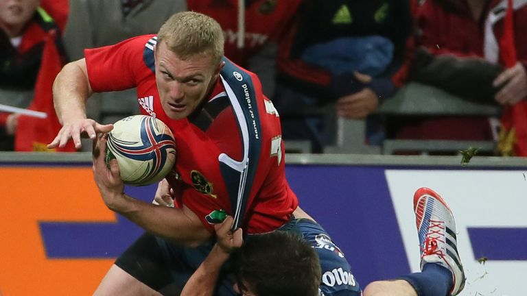 Keith Earls: Set Munster on their way to victory with first-half try