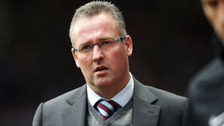 Paul Lambert: The Aston Villa boss says he is in no rush to enter talks regarding a new contract