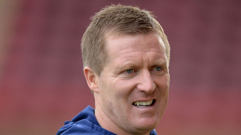 Gary Locke: Frustrated at Hearts' latest defeat