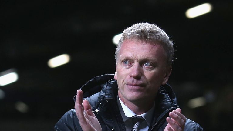David Moyes: Showed plenty of intent after criticism of his caution against Southampton
