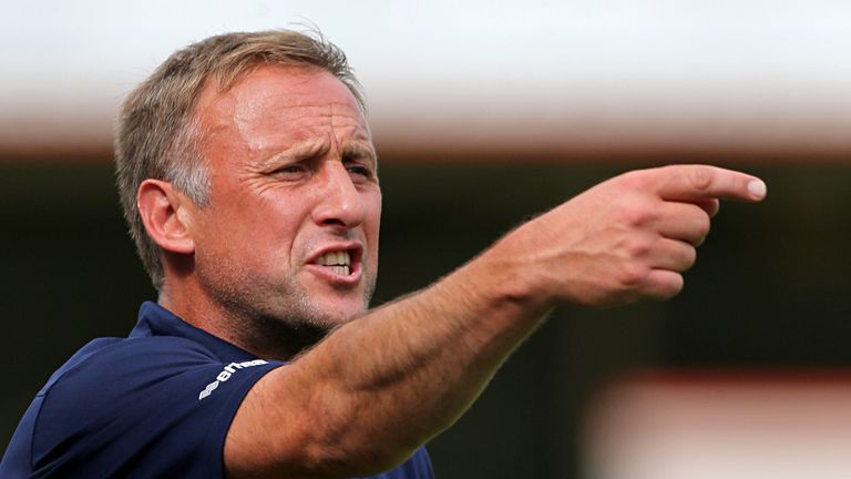 Mark Yates: Impressed by defender