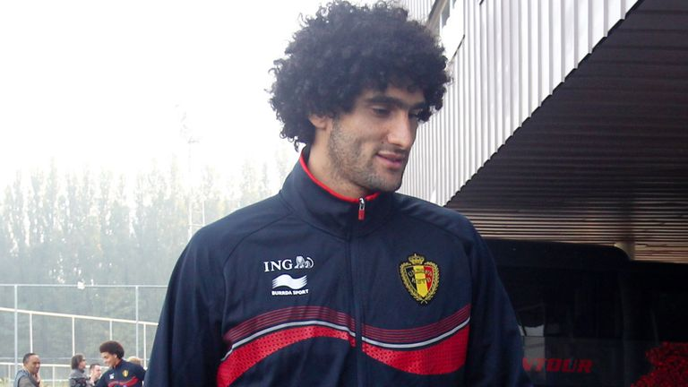 Marouane Fellaini: Is one of three players in Belgium's squad to have Moroccan parents