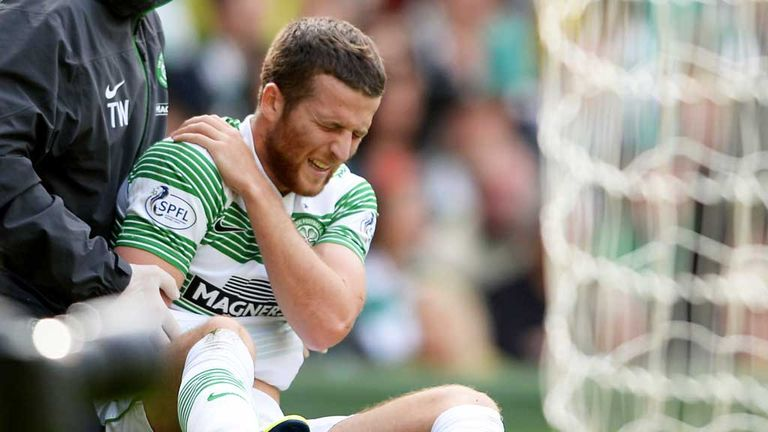 Adam Matthews: Sustained a serious injury in Celtic's win over Motherwell