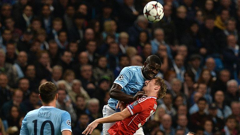 Micah Richards: Hailed efficient Bayern Munich performance
