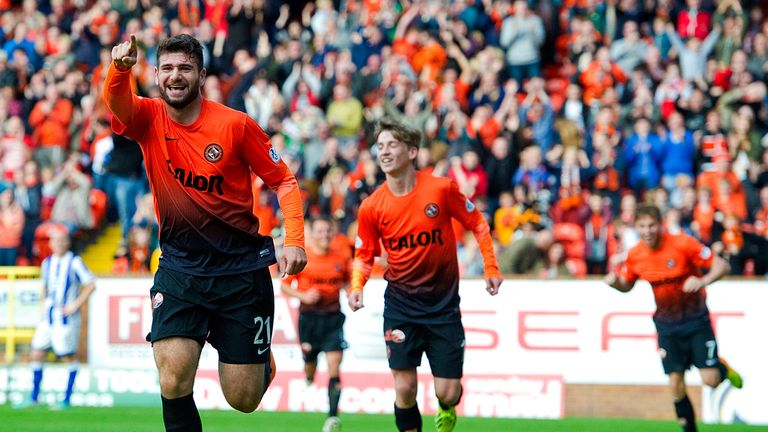 Nadir Ciftci: Scored the only goal at Tannadice