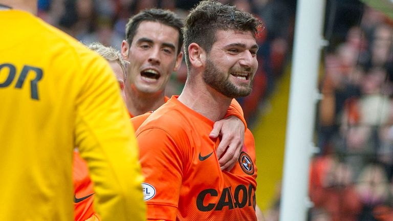 Nadir Ciftci: Dundee United striker charged by the SFA