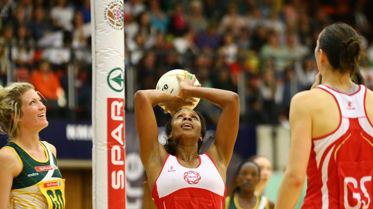 Pam Cookey: The England Netball captain will join the What's the Story panel on Wednesday night.