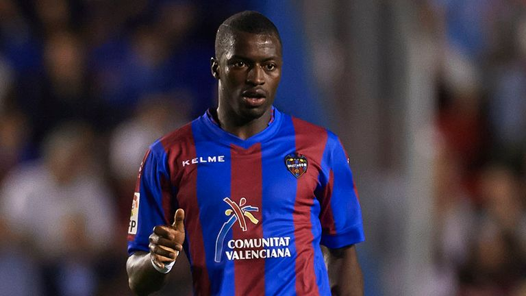 Papakouli Diop: On target for Levante against Osasuna