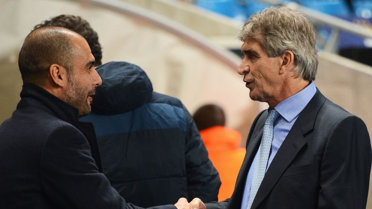 Pep and Manuel prepare to do battle once more.