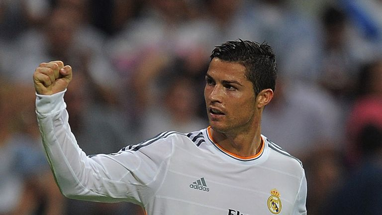 Cristiano Ronaldo: Grabbed another late goal as Real Madrid saw off Levante