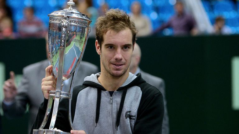 Richard Gasquet: the 10th title of his career