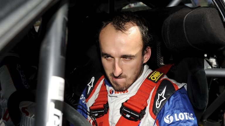 Kubica has battled back from serious injuries sustained in the Ronde di Andora rally in Italy two years ago