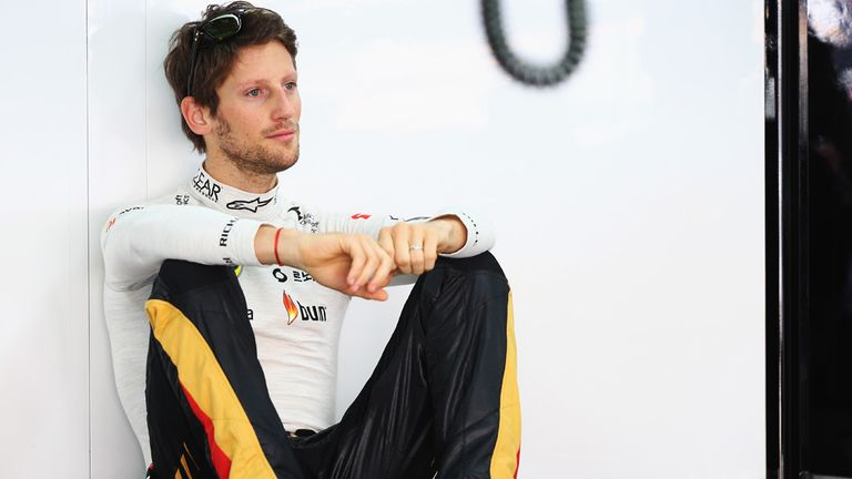 Romain Grosjean: Lines up third for Korean GP