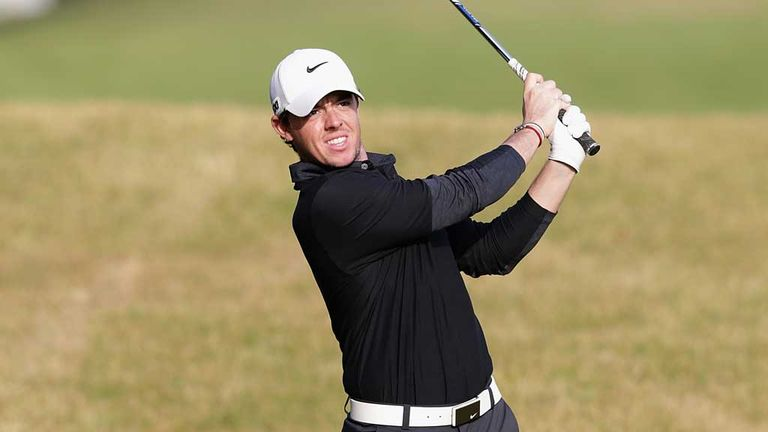 Rory McIlroy: Made a steady start on his return to competitive action