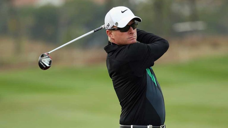 Simon Dyson: Has been struggling to enjoy golf over last two years