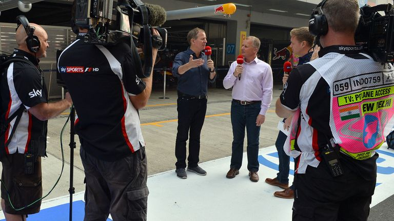 Brundle and Herbert will be talking F1 2014 on SSN