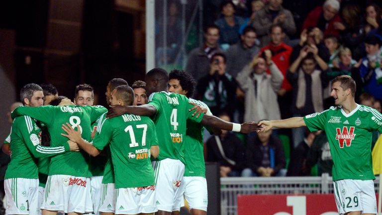 St Etienne: Battled for a draw against PSG