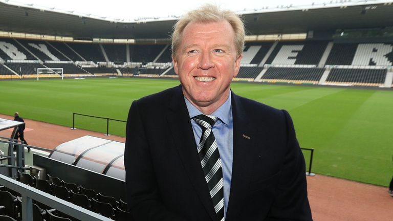 Steve McClaren: Delighted to be back at Derby