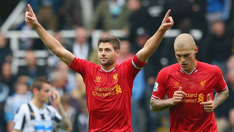Steven Gerrard: Praised by Jose Enrique